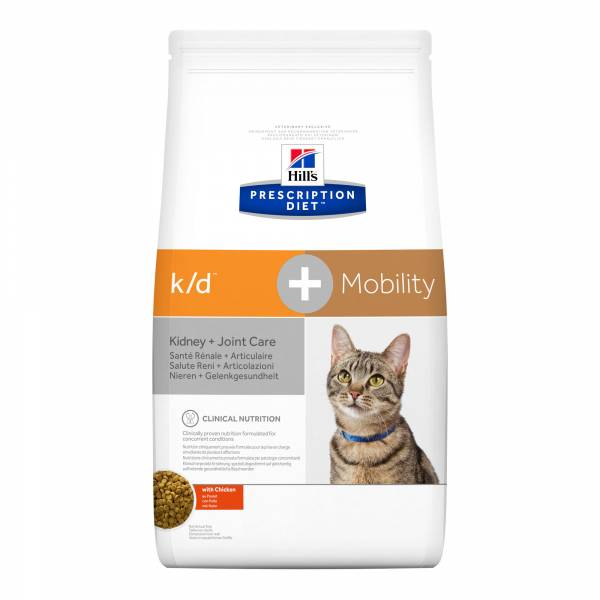 Hill's Prescription Diet KD + Mobility Kidney + Joint Care Kattenvoer