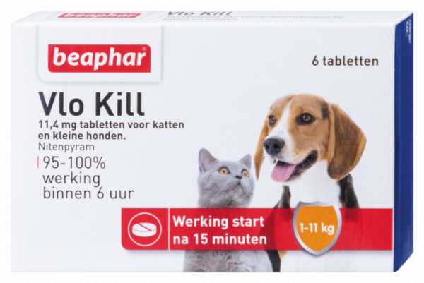 Beaphar Vlo Kill+ Hond en Kat