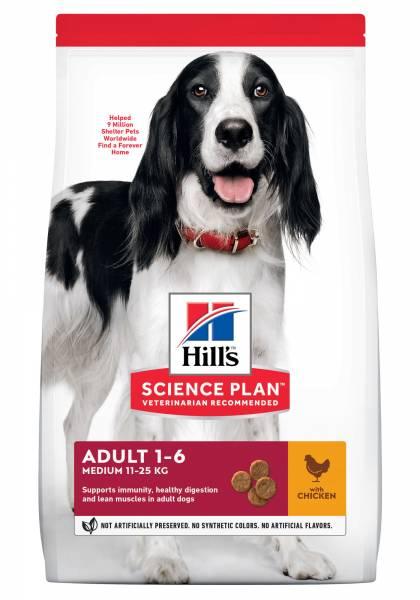 Hill's Science Plan Medium Adult Hondenvoer Kip