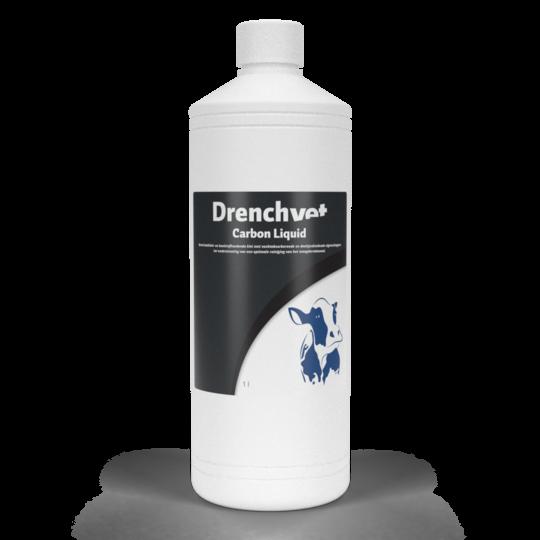 Drenchvet Carbon Liquid Maagdarm Paard 1 liter