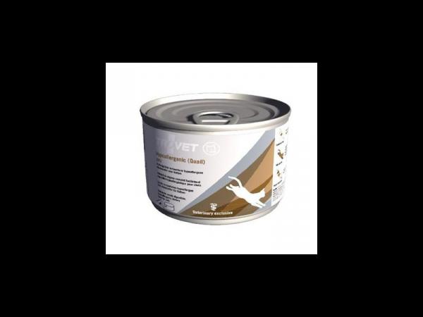 Trovet QRD Hypoallergenic (Quail) Kat 12 x 200 gram