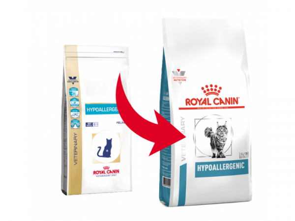 Royal Canin Hypoallergenic kat