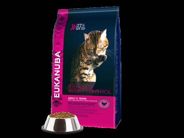 Eukanuba Cat Adult Weight Control Sterilised