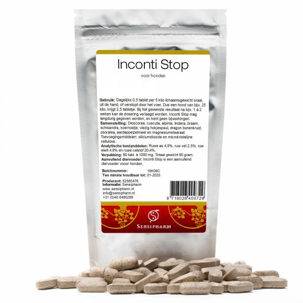 Sensipharm Inconti Stop Hond 90 tabletten