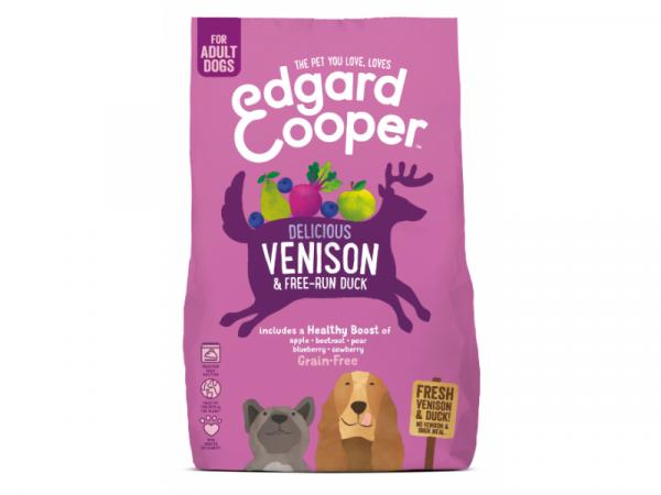 Edgard & Cooper Adult Hondenvoer Vers Hert en Scharreleend