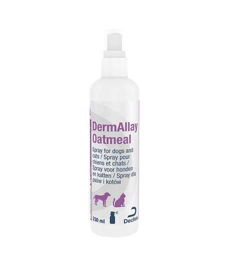 DermAllay Oatmeal Conditioning Spray Hond Kat 230 ml