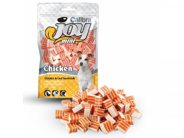 Calibra Joy Dog Mini Chicken Cod Sandwich 70 gram