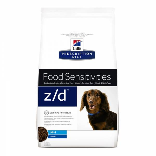 Hill's Prescription Diet ZD Mini Food Sensitivities Hondenvoer 6 kg