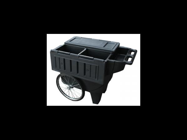 Sportote Feed Cart Black voerkar paard