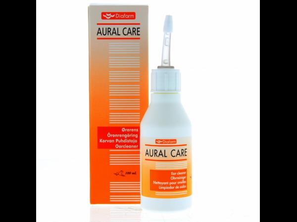Diafarm Aural Care Oorcleaner Huisdieren en Paard 100 ml