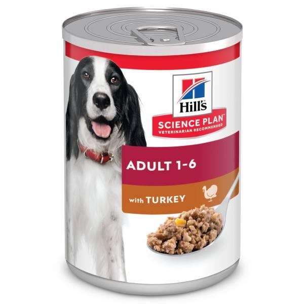Hill's Science Plan Adult Hondenvoer Nat Kalkoen 12 x 370 gram