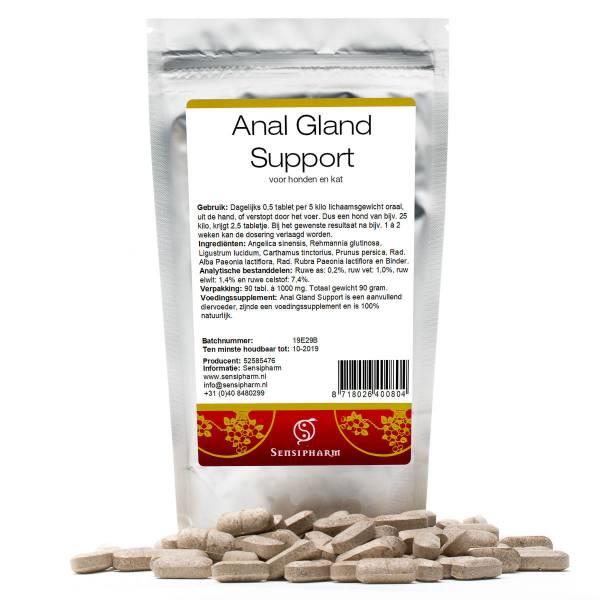 Sensipharm Anal Gland Support Hond en Kat 90 tabletten