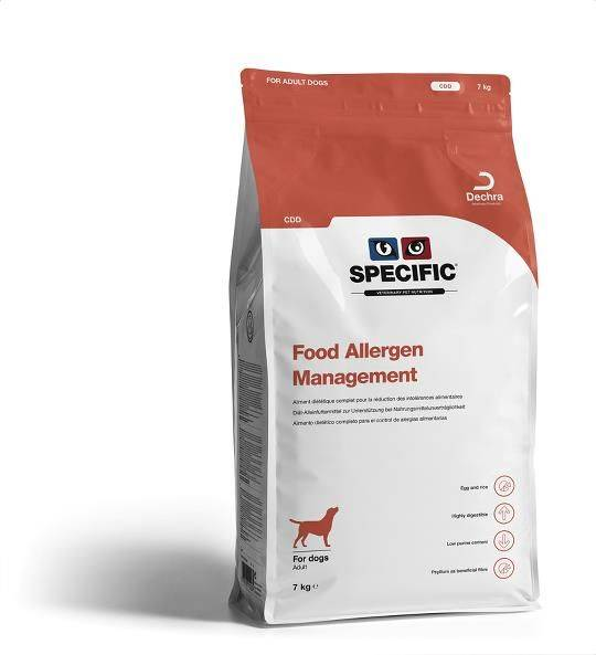 Specific CDD Food Allergy Management hond