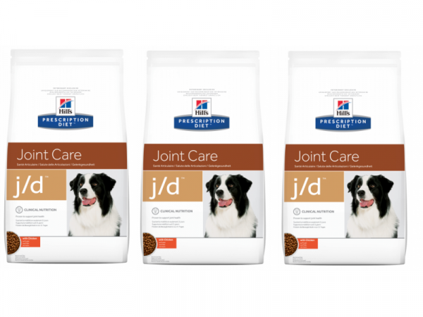 Hill's JD Joint Care Canine 3 x 12 kg
