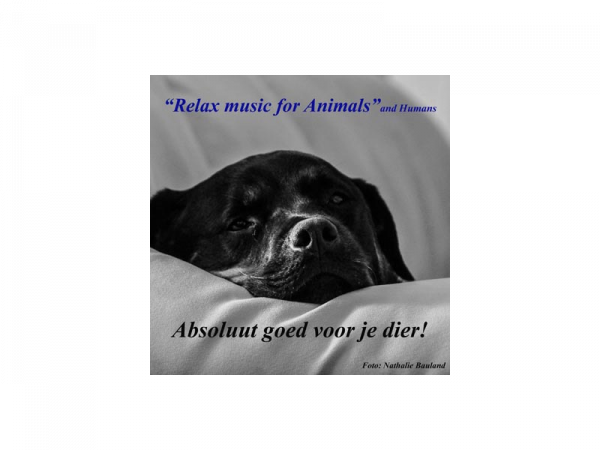 Relax music for animals - cd voor uw huisdier