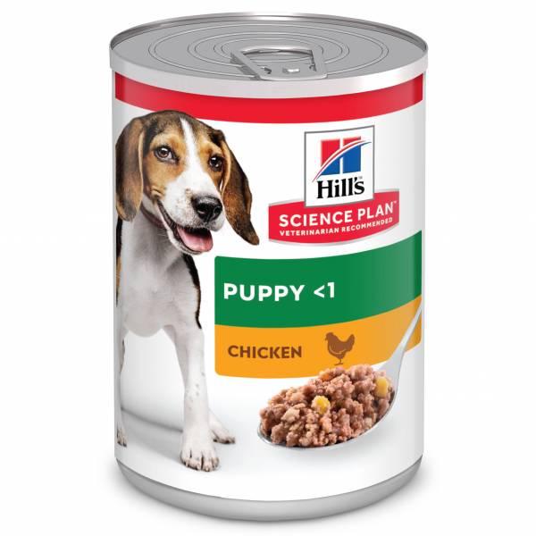 Hill's Science Plan Puppyvoer Nat Kip 12 x 370 gram