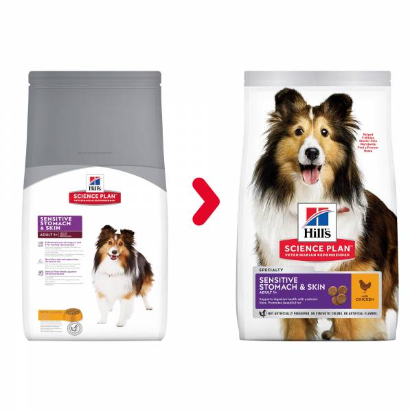 Hill's Science Plan Canine Adult Sensitive Stomach & Skin Chicken