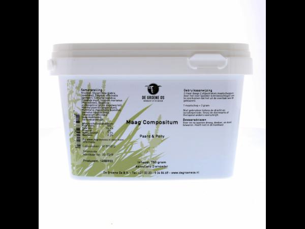 Maag Compositum Paard Groene Os 750 gram