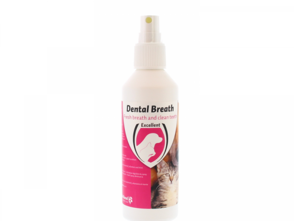 Dental Breath en Tooth Spray Dog Cat 150 ml