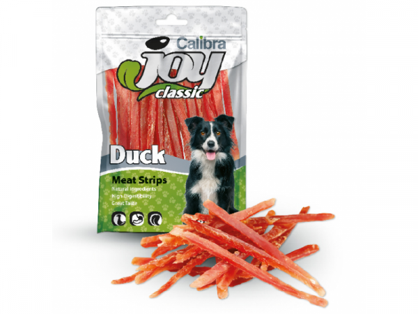 Calibra Joy Dog Duck Strips 80 gram