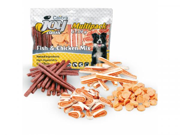 Calibra Joy Dog Pack Fish Chicken Mix 280 gram