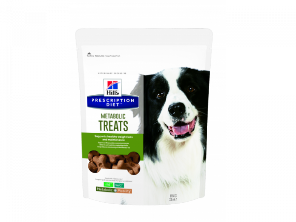 Hill's Prescription Diet Metabolic Hond Treats 12 x 220 gram