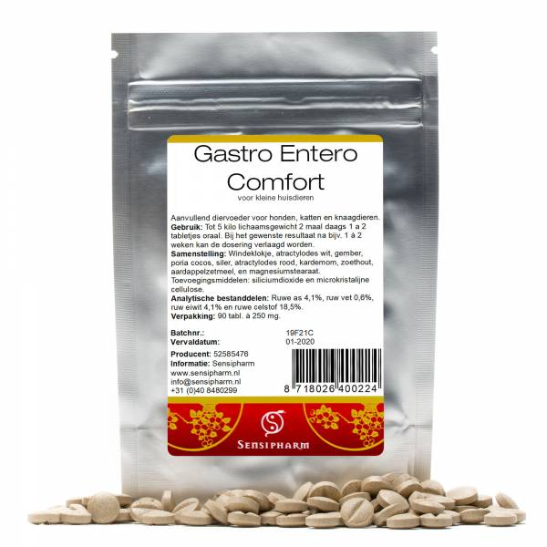 Sensipharm Gastro Entero Comfort Kleine Huisdieren 90 tabletten