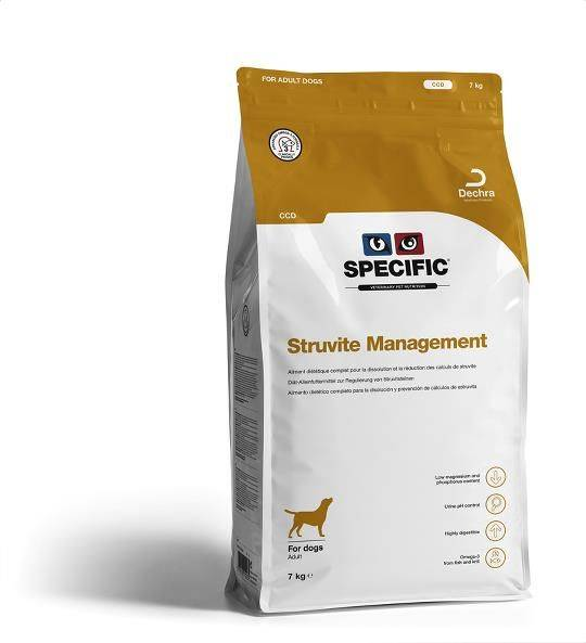 Specific CCD Struvite Management CCD hond
