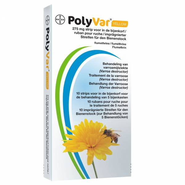 PolyVar Yellow 275mg Bijenkorfstrip 10 stuks