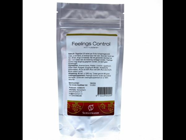 Sensipharm Feelings Control Hond 90 tabletten