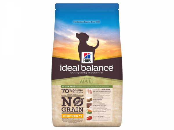 Hill's Ideal Balance No Grain Chicken Canine Adult 12 kg