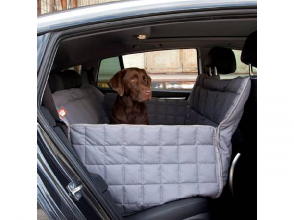 Doctor Bark Car Seat Blanket 3 stoelen Grijs Large
