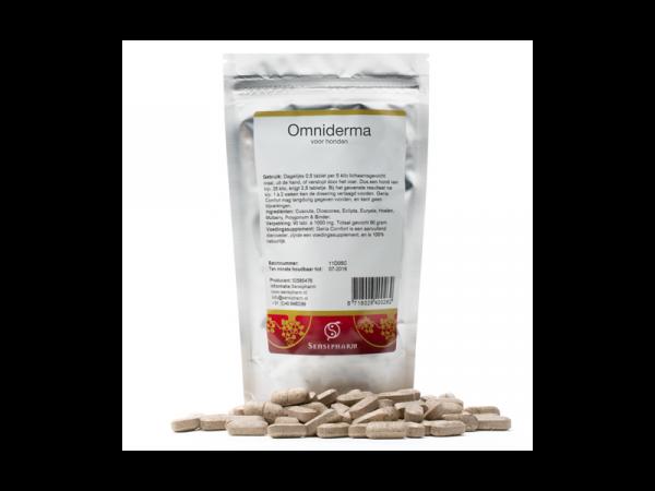 Sensipharm Omniderma Hond 90 tabletten