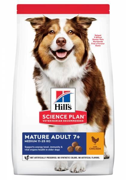 Hill's Science Plan Medium Mature Adult 7+ Hondenvoer
