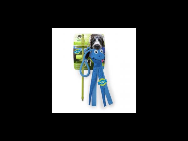 AFP Tugger Ground Stick With Blue Mallard Trekspeelgoed Hond