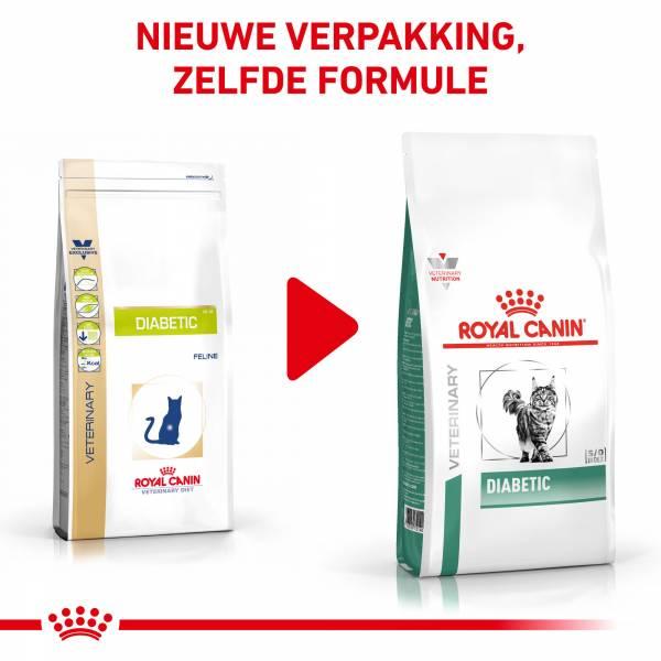 Royal Canin Diabetic - Kattenvoer voor volwassen katten met suikerziekte