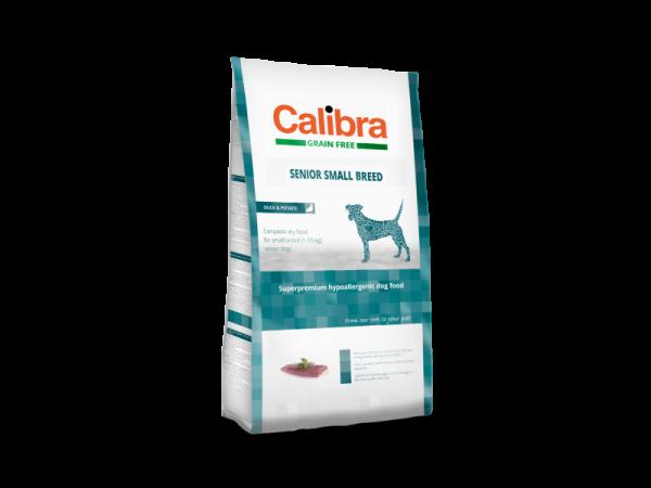 Calibra Dog Grain Free Senior Small Breed Duck & Potato