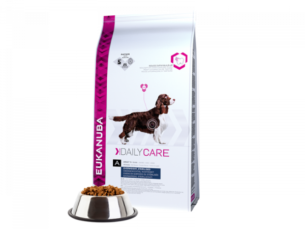 Eukanuba Dog Daily Care Adult Overweight Sterilized 12.5 kg