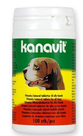 Kanavit Vitaminen Mineralen Hond 100 tabletten