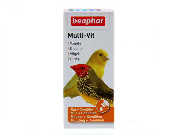 Beaphar Multi-Vit Vogels 20 ml