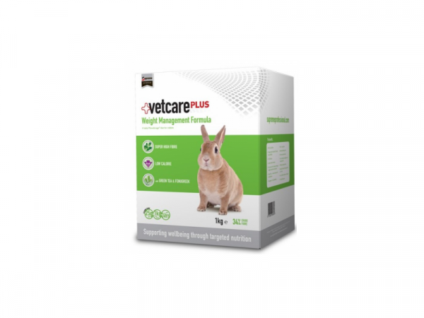 Supreme VetCare Plus Weight Management Formula Konijn 1 kg