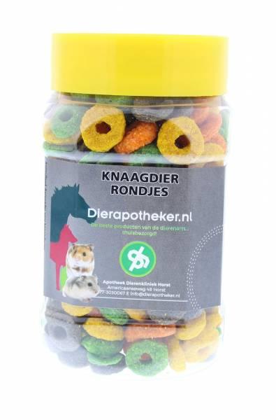 Knaagdier Rondjes Snack Dierapotheker.nl 150 gram