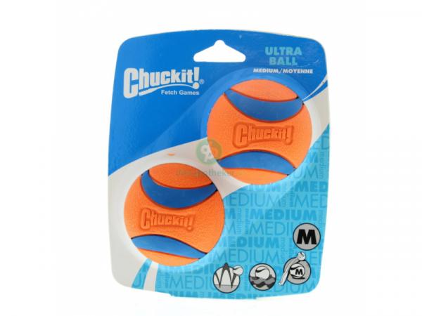 Chuckit Ultra Ball small Rubber 2 stuks