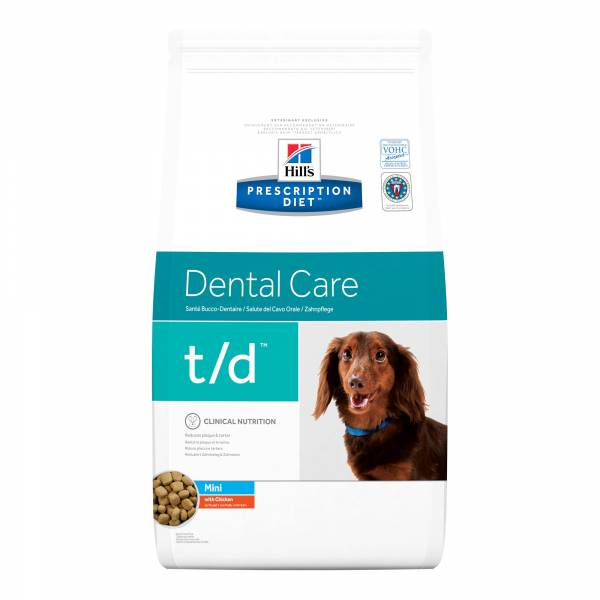 Hill's Prescription Diet TD Mini Dental Care Hondenvoer Kip 3 kg