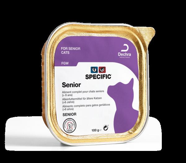 Specific Senior Kat FGW Kuipjes 4 x 7 x 100 gram
