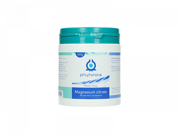 Phytonics Magnesium Citrate Paard 500 gram