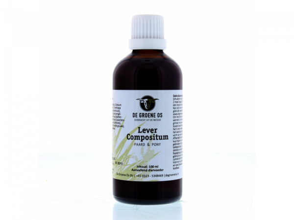 Lever Compositum Paard Groene Os 100 ml