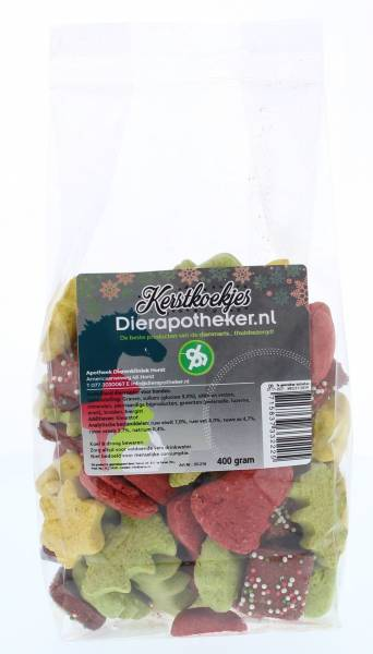 Kerstkoekjes Dierapotheker.nl 400 gram