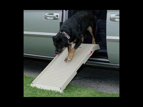 Halfstep Honden Loopplank Beige