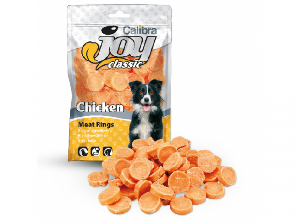 Calibra Joy Dog Classic Chicken Rings 80 gram